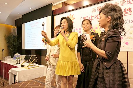 2014年10周年舉辦「愛中有甜」慈善籌款健康晚宴支持「糖尿天使」